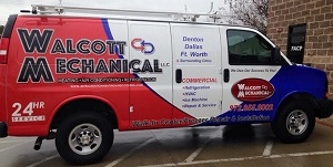 Commercial HVAC-R Repair Van